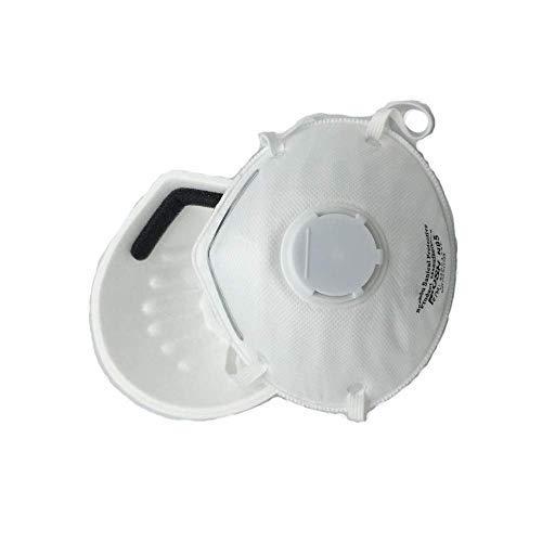 Jadeshay Staubmaske - Anti-Umweltverschmutzung Maske Einweg-n-95 Atemschutzmaske, Arbeit Maske für Constriction Arbeit (20 Stück)