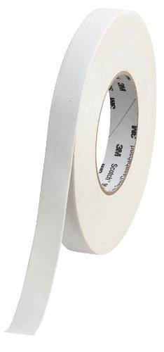 Scotch 9545N W19 Gewebeband, 1 Rolle, 19 mm x 50 m, weiß