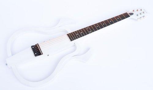Neu im Angebot: Silent Western Gitarre weiss