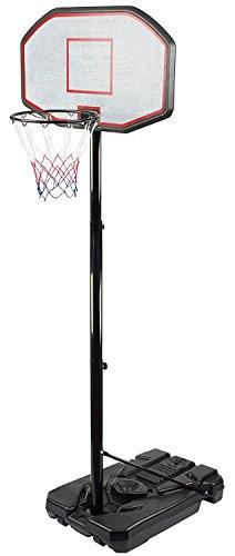 Iunnds Tragbares Basketballkorb- und Ständersystem, verstellbar Stange, mit 111,8cm Rückwand, für Freiplatz oder Hof