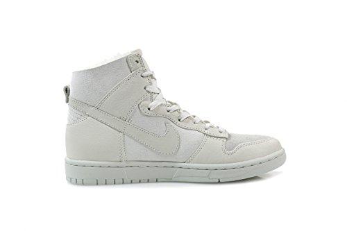 Nike Dunk High Lux Sherpa QS White / White