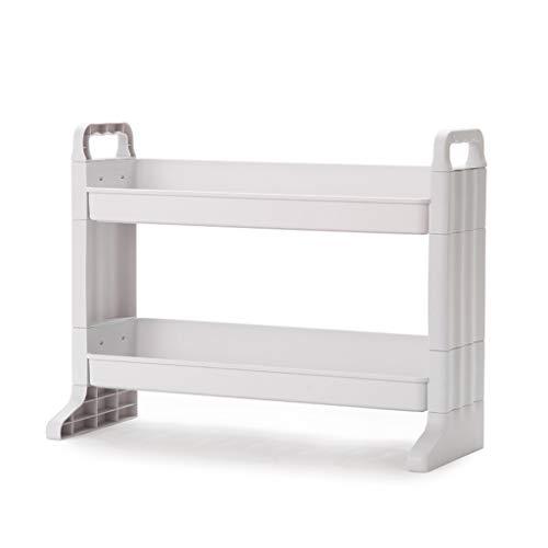 2-lagiger Kosmetik-Aufbewahrungsbox-Desktop-Aufbewahrungsgestell...