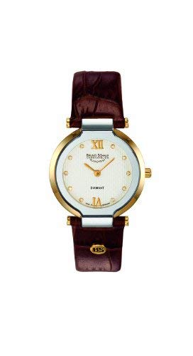 Bruno Söhnle Damen Analog Quarz Uhr mit Leder Armband 17-23077-931