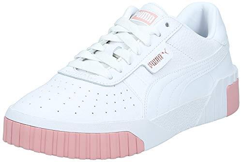 Puma Damen Cali WN's Sneaker, White-Rose Gold, 40 EU