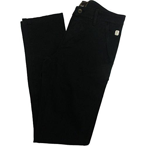 Camouflage pantalone uomo ae90 - Chino elasticizzato 97% cotone 3% elastan, Taglia: 30 Blu