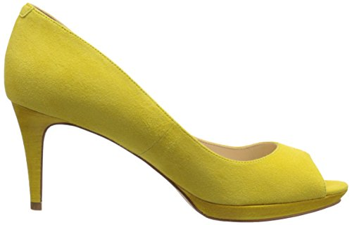 Pompa Nine West Gelabelle Dress Suede Yellow Suede