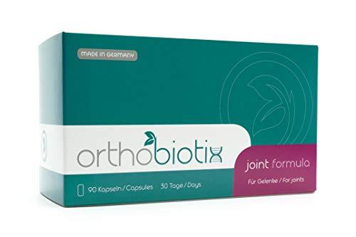 orthobiotix joint formula - mit Glucosamin, Chondroitin, MSM, Hyaluronsäure und 10 weiteren Nährstoffen - 90 Gelenkkapseln hochdosiert