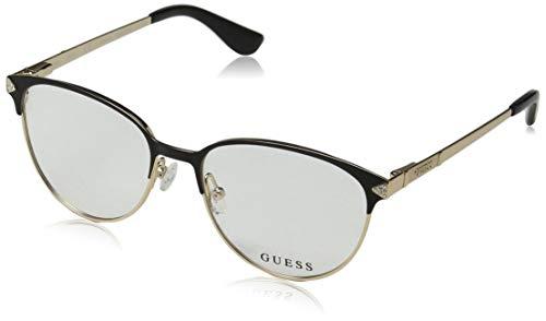 Guess Unisex-Erwachsene GU2633 005 52 Brillengestelle, Schwarz (Nero), - Guess Frames Brille