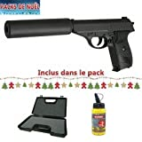 Best Airsoft Spring Guns - Pack De Noel Airsoft Galaxy Type Sig Sauer Review