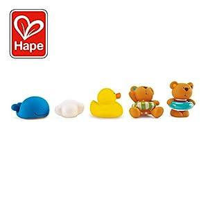 Hape- Juguetes baño bebé Osito y Amigos (Barrutoys E0201)