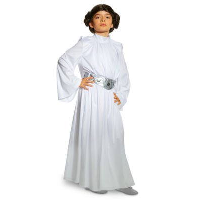 Authentic Disney Store, Star Wars - Prinzessin Leia Kostüm für Kinder - Größe 13 (Kinder Jack Skellington Kostüme)