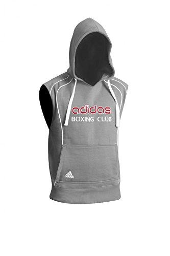 Adidas Sleeveless Hoody black ADITB081 Grau