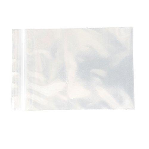 Einfaches Kostüm Recycling - 100stark wiederverschließbarer Zip Lock Kunststoff Grip Seal Taschen 5* 7cm