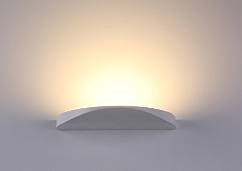 Lanfu elegante lampada da parete molto chic design applique da parete ideale per la camera bianco caldo del LED, soggiorno, scala e salotti 10 W, 230 * 112 * 20MM
