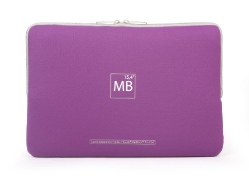 "Tucano Elements Second Skin custodia per MacBook Pro 15"" Viola"