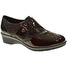 Zapato CUÑA - Mujer - Marron - pitillos - 5215