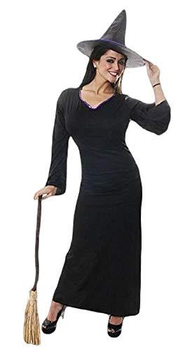 Klassische Hexe Für Erwachsene Kostüm - Erwachsene Damen Sexy Voll Lang Länge