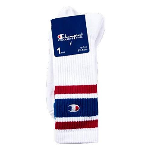 Champion - 1PP Crew Socken (weiß) - L (43-46) (Champion Herren Crew Socken)