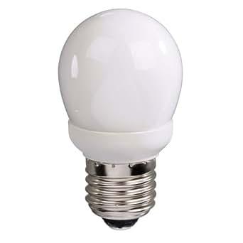 Xavax Energiesparlampe 7W Mini Globe Form E14