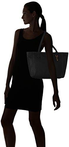 Fossil Emma Borsa tote Shopper pelle 32 cm Black (Nero)