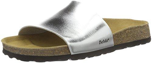 BetulaReggae - Ciabatte Donna , Argento (Silber (Bf Mirror Silver)), 38