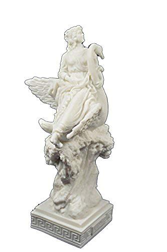 Estia Creations Aphrodite auf Swan Statue Venus Skulptur Göttin der Liebe