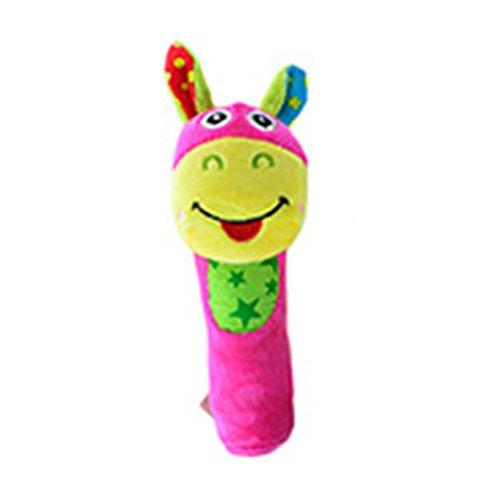 Sungpunet Baby Rassel Baby Kinderwagen Activity-Spielzeug Plüsch Spielzeug 1 Stück (weißes Schaf)