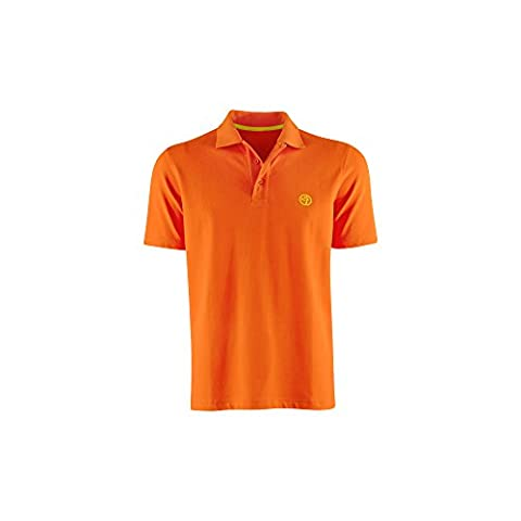 Zumba Men's Polo Shirt rouge Tango with Tangerine XS
