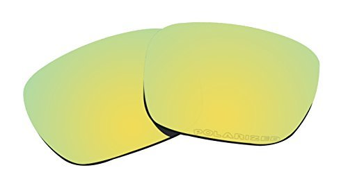 Polarized Lenses Replacement for Oakley Holbrook Sunglasses Lenses (Gold Mirror Coatings) by BVANQ