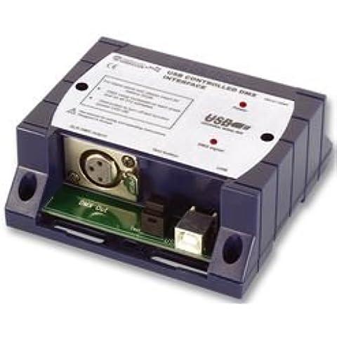 DMX INTERFACE, USB CONTROLLED BPSCA K8062 - DP28135 Di VELLEMAN KIT - Usb Dmx Interface