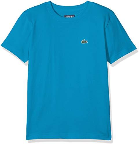 Lacoste Sport Jungen Tj8811 T-Shirt, Blau (Pratensis Adb), 14 Jahre (Herstellergröße: 14A)