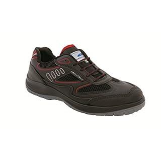 Aboutblu 1930010la 47Eagle Black Red S3Work Shoe Size 47, Black Red