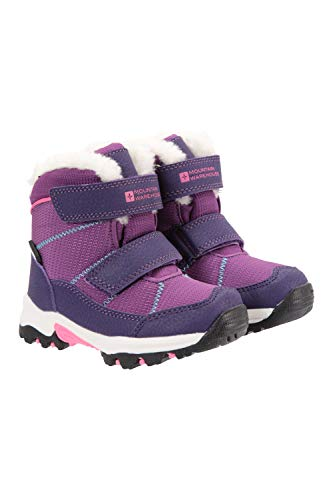 Mountain Warehouse Comet Kids Waterproof Snowboots -Warm Winter Shoes