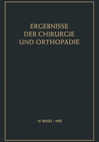 Ergebnisse der Chirurgie und Orthop????die (German Edition) by Karl Heinrich Bauer (2012-02-12)