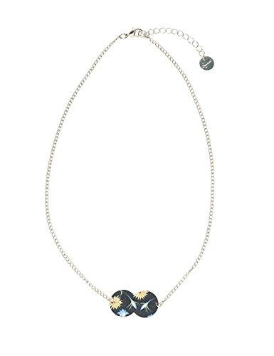 Desigual Damen-Kragen Halskette Messing 18WAGO222000U