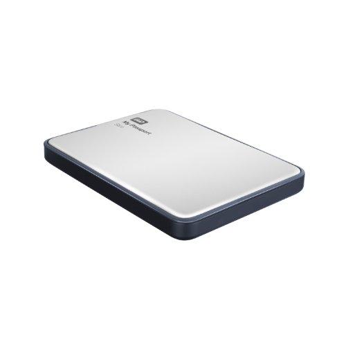 WD My Passport Slim externe Festplatte 2TB (6,4 cm (2,5 Zoll), USB 3.0) silber