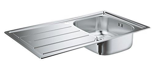 GROHE K200   Küche - Edelstahlspüle mit Abtropffläche   edelstahl   31552SD0