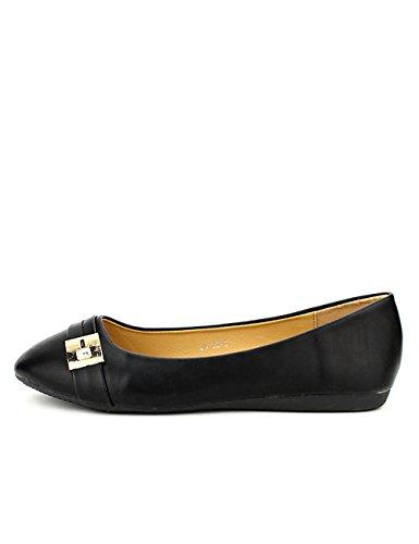 Cendriyon Ballerine Noire ML Shoes Chaussures Femme