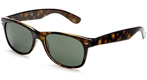 UVprotect Sonnenbrille retro Design Herren und Damen W100-Havanna