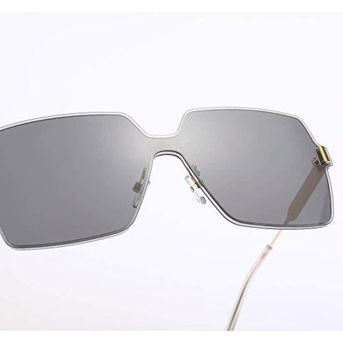 GCCI Sommer Mode Sonnenbrillen Platz Sonnenbrille Männer Einteiliges Objektiv Schwarz Rot Rosa Farbe Candy Sonnenbrille Frauen 'S Mode-accessoires Stil Persönlichkeit