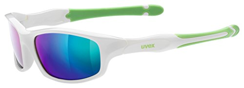 Uvex Kinder Sportstyle 507 Sportbrille, white-green, One size