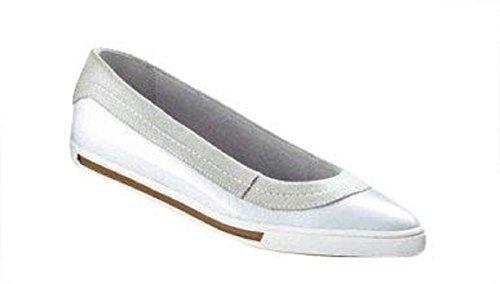 Velvetred  Slipper, Mocassins pour femme Blanc