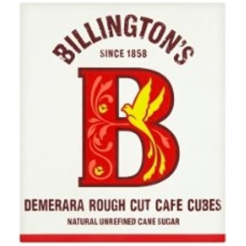De Billington Demerara Rough Cut Cafe Cubos - 750g
