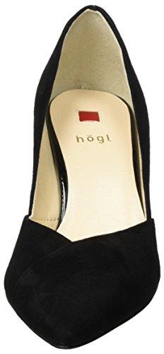 Högl 4-10 7502 0100, Escarpins Femme Noir (Schwarz)