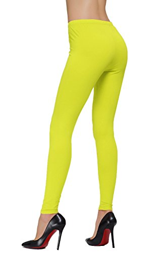 DIAMONDKI Women'Größe s Plus Knöchellange Leggings Lime
