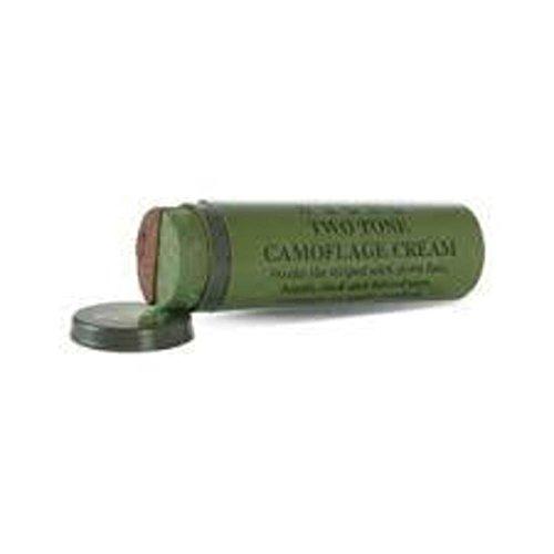 Stick de camouflage visage militaire vert / marron
