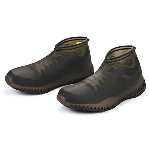 VLCOO Cubierta del Zapato, Cubierta del Zapato Impermeable, Funda de Silicona para Zapatos con Suela...