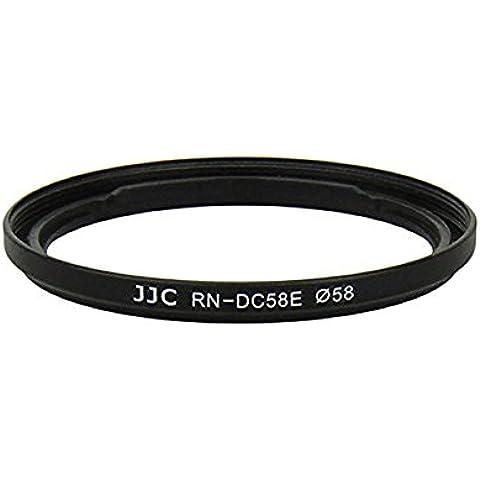 JJC RN-DC58E - Adaptador para filtros para Canon PowerShot G1 X Mark II FC-DC58E