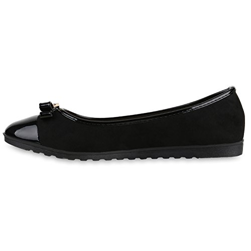 Damen Slipper Loafers Lack Metallic Schuhe Flats Profilsohle