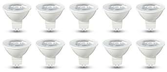 AmazonBasics Lot de 10 ampoules LED GU5.3 4,5 W (35 W)